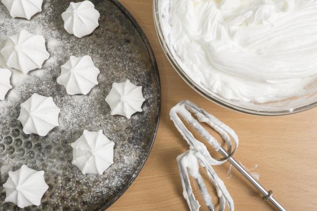 お菓子作りでメレンゲに失敗してしまう6つの理由と活用法