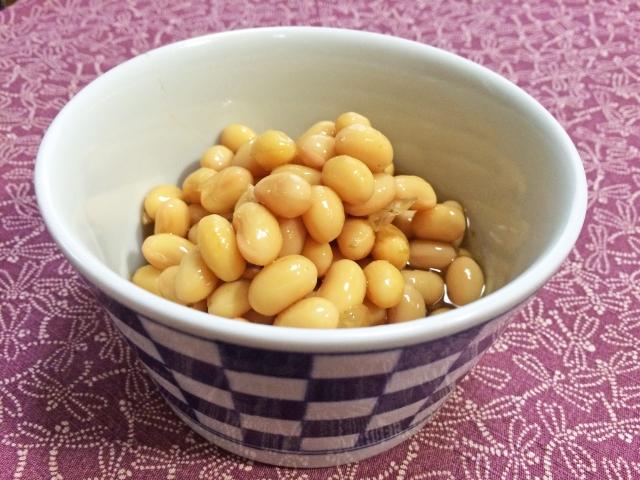 大豆の煮物の水煮を作ろう!甘いと更に美味しさがアップ!?