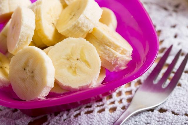 離乳食期にはバナナが便利!でも食べ過ぎには気をつけて!