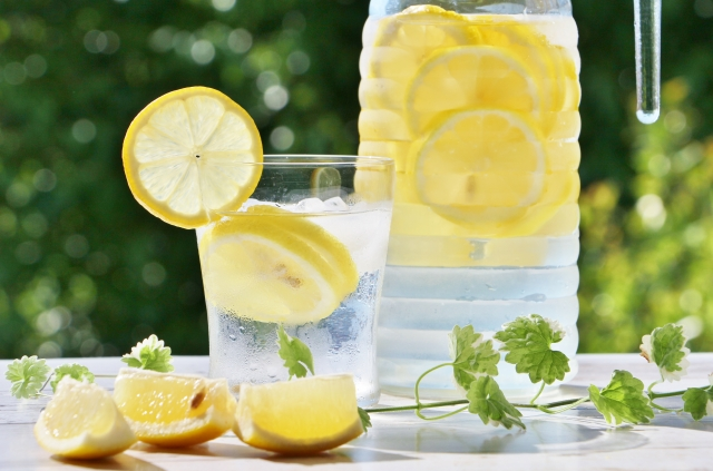 レモンのカット方法は色々!輪切りされたものの正しい絞り方