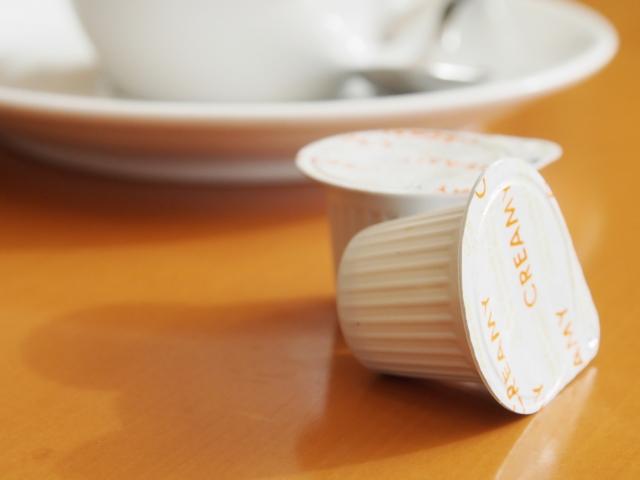 コーヒーにミルクを入れるなら、だんぜんクリープで決まり!