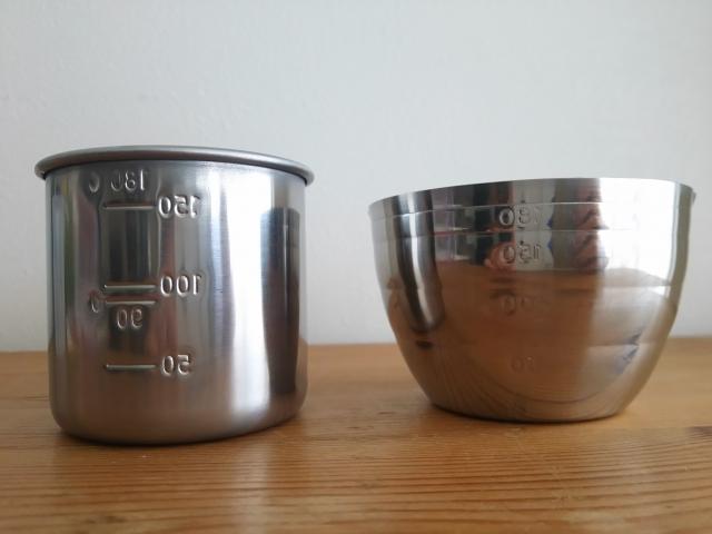 料理本にある水1カップとは?日本と外国の計量カップ!