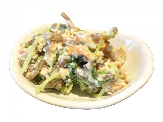 栄養豊富な白和えレシピの紹介!味噌入り味噌なしバージョン