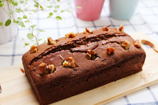 チョコレートのパウンドケーキ!気になるカロリーをご紹介