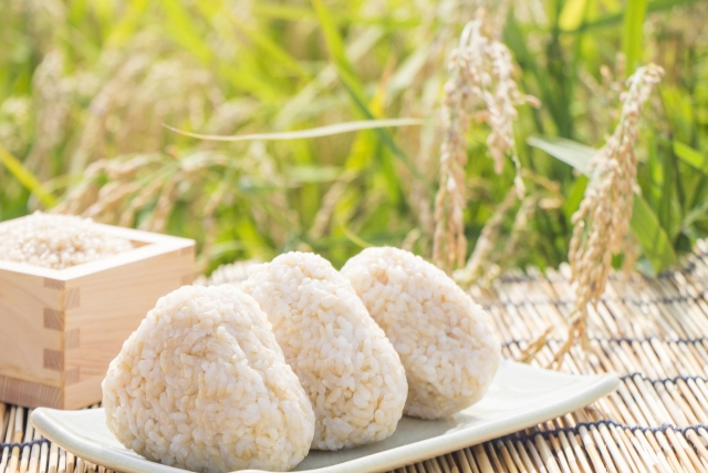 玄米のおにぎりがパラパラせずにおいしく作れる技ありレシピ