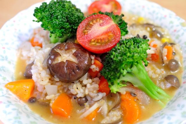 脂肪燃焼スープダイエットの回復食は美味しい玄米リゾットを