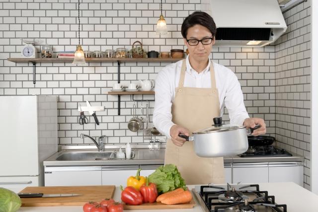 食生活改善開始!一人暮らしと単身赴任の場合はどうする?