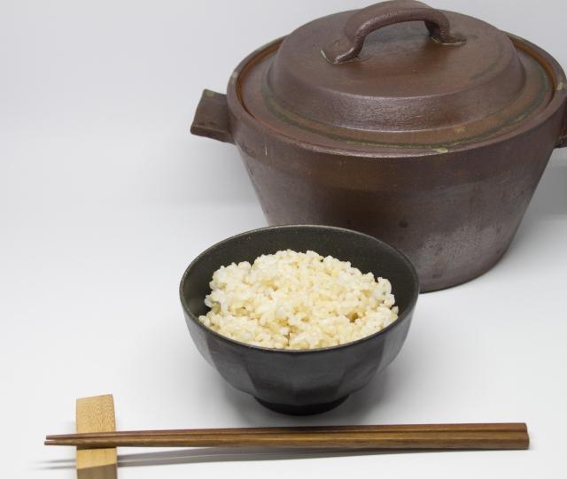 玄米をびっくり炊きするとアブシジン酸の毒が危険って本当?