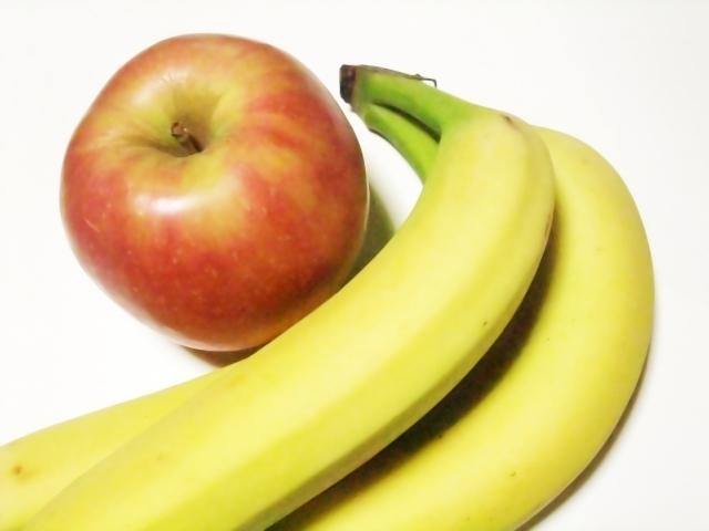 カロリーだけではわからない!りんごやバナナでダイエット