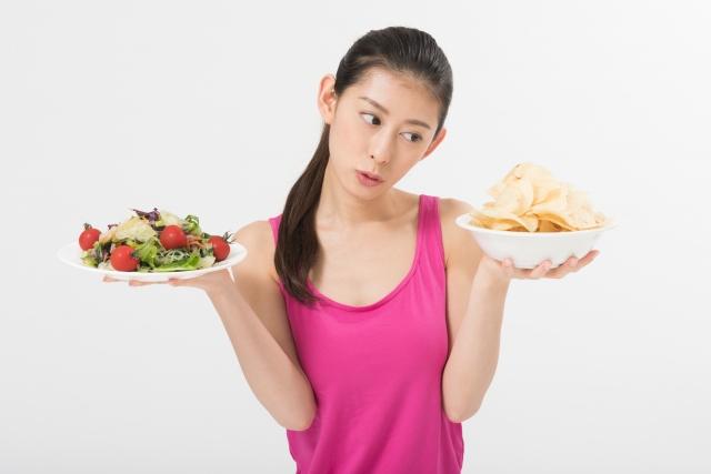 食事改善のダイエットでは改善できない!低い運動量は要注意