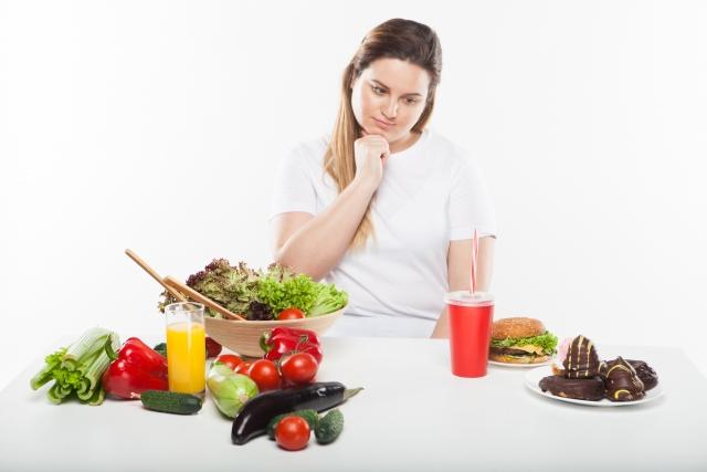 食事改善でダイエット!ストレスを溜めない方法とは?